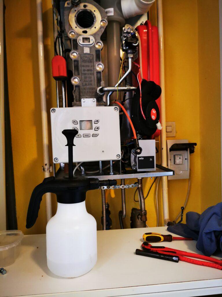 Fűtési rendszer gépi mosásirkó